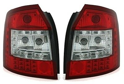 Feux Arriere Led Blanc Rouge Audi A4 B6 8E Avant Break 04/2001-12/2004 Tous