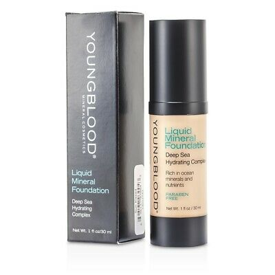 NEW Youngblood Liquid Mineral Foundation (Sun Kissed) 30ml/1oz Womens Makeup