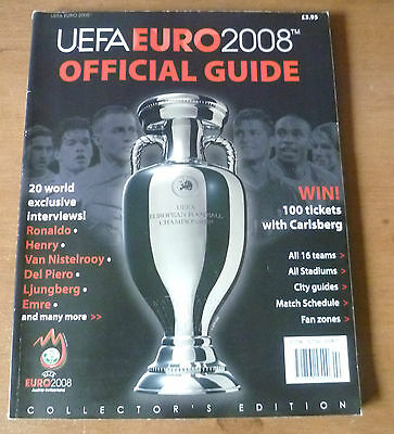 Euro 2008 - Official Guide *Collector's Edition*.