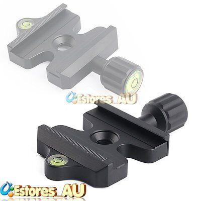 50mm Quick Release Plate Clamp Fr Compatible Arca-Swiss Tripod Monopod Ball Head