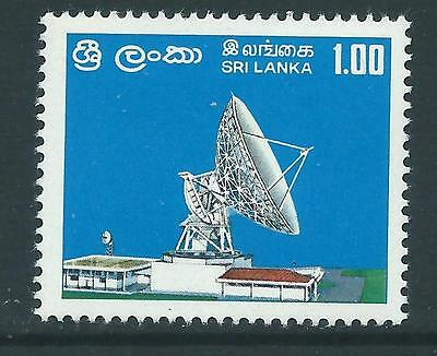 Sri Lanka Sg617 1976 Earth Satellite Station   Mnh