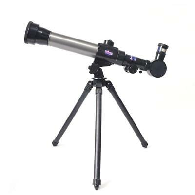 Just For Kids - New Silver 60mm Refractor Telescope Bundle