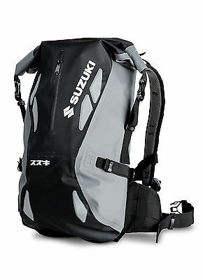 Genuine OEM  Suzuki Dry Backpack 17 inch Laptop pocket 20 Litres 990F0-DRYBP-00