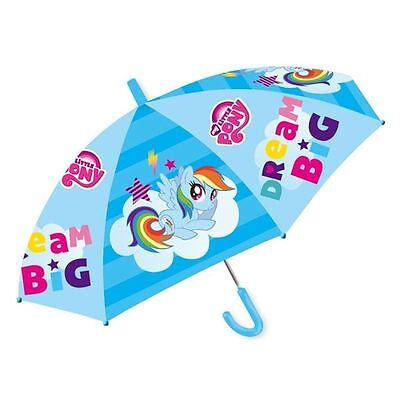 Official Licensed | MY LITTLE PONY | Rainbow Friends Umbrella Brolly | BLUE
