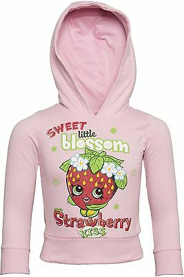 Officially Licensed | SHOPKINS | Shopkin Premium Youth Hoodie | Pink | AGE 5-6