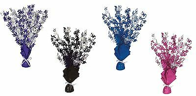 70th Birthday Party Foil Table Cascade Centrepiece Decoration Assorted Colours