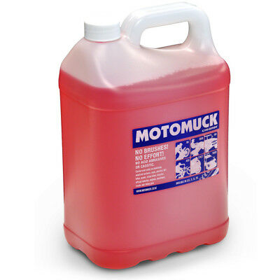 Motomuck NEW Mx 5L Motorbike Cleaning Solution 5 Litre Dirt Bike Cleaner