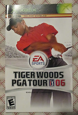 Xbox - Tiger Woods PGA Tour 06 (Manual only)
