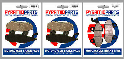 Front & Rear Brake Pads (3 Pairs) for Can-Am 800 Commander 2011