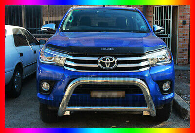 """TOYOTA Hilux Nudge Bar 3"""" Stainless Steel Grille Guard 2015 2016 2017"""