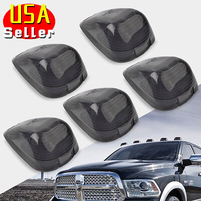 5x Cab Marker Light Roof Running Cover Lens SUV For Ford F-250 F-350 Super Duty