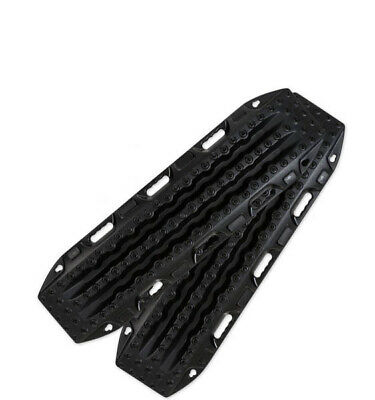 Maxtrax Black 4Wd Recovery Tracks Sand Mud Snow 4X4 Max Trax Extraction Tred