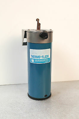 Lab-Line Thermo-Flask Liquid Nitrogen LN2 Vapor Trap - Copper Coil - 2133