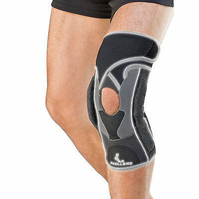 NEW Mueller Premium Hg80 Hinged Knee Brace Support Metal Stay Ligament Strap NHS
