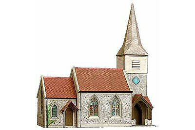 Country Church - Superquick B29 - OO Building Card kit - free post