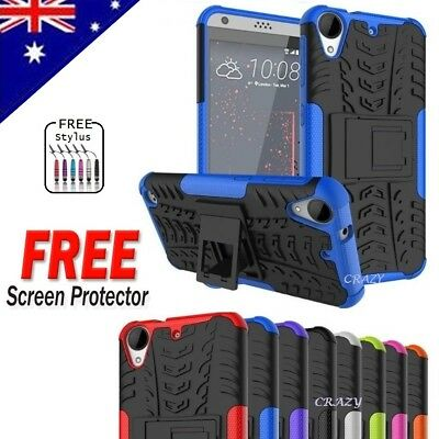 Heavy Duty Tough Kickstand Strong Case Cover For HTC Desire 530