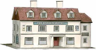 Railway Hotel - Superquick B33 - OO Building Card kit - free post