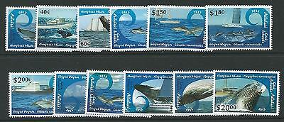 Aitutaki 2013 Whales Dolphins & Ships Mnh