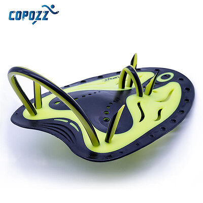 COPOZZ  Swimming Surf Hand Paddles Webbed Hands Flippers Strap Training Kid