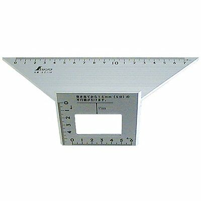 New SHINWA Square Layout Miter Double 45 Degree 62114 from Japan