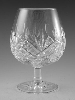 EDINBURGH Crystal - BALMORAL Cut - Brandy Glass / Glasses - 5""