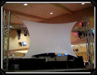 "Projection Screen, Dj Screen, 180"" X 72"" (15' X 6'), Front And Rear, Vj/dj"