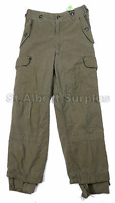 Canadian Army Combat Pants - Od Green - Mk3 - Size 6728 - Genuine - 551Kp
