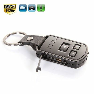 HD Car Key Chain Hidden SPY Camera Covert Mini DVR Motion Detection IR Control