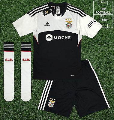 Benfica Away Kit - Boys - Official Adidas Full Football Kit - 13-14 Years