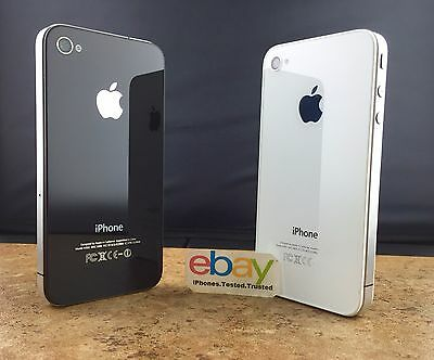 Apple iPhone 4 Black White Unlocked AT&T Sprint TMobile Verizon 8/16GB/32GB/64GB