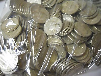 $2.00 Face Value 90% Silver Quality Junk Quarters. Survival Money. US Pre 1965
