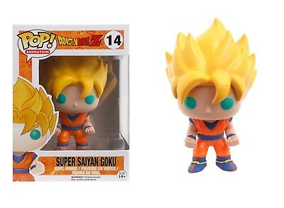 Funko Pop Animation: Dragon Ball Z - Super Saiyan Goku Vinyl Figure Item #3807