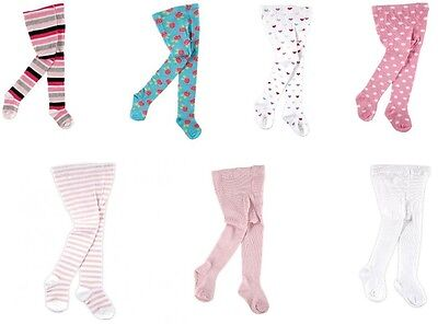 LUVABLE FRIENDS Baby Toddler Warm Cotton Footed Tights/Leggings BRAND NEW