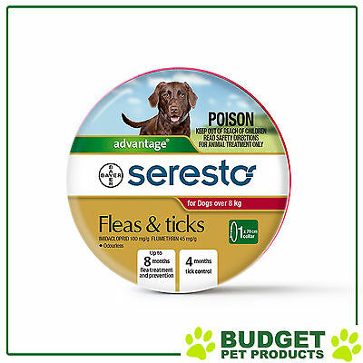 Advantage Seresto Flea And Tick Collar For Dogs Over 8kg
