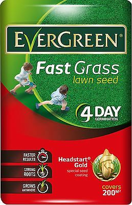 EverGreen Fast Grass Lawn Seed Bag Covers 200 m/2