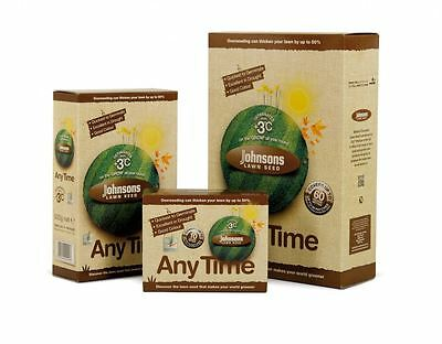 Johnsons Lawn Seed Any Time Covers 10m/2