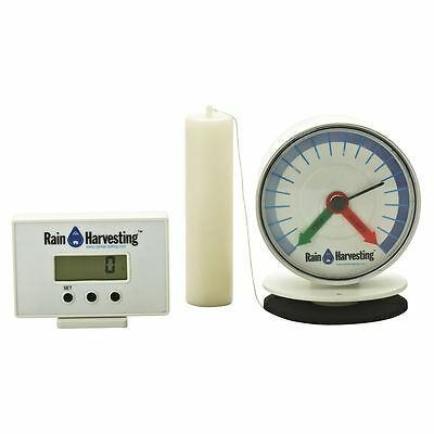 Wireless Water Tank Level LED Monitor Tank Gauge Rain Harvesting