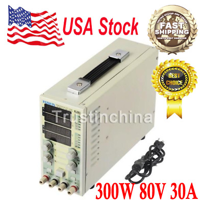 Dual Channel Adjustable LCD DC Electronic Load 300W 80V 30A USA FAST SHIP!