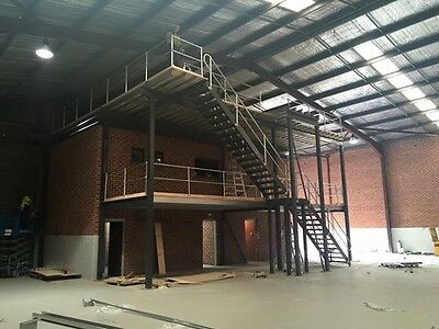 Mezzanine floor kits With Stairs From 180m2