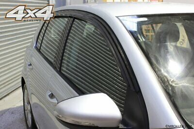 For Volkswagen Golf MK5 / MK6 Hatchback Wind Deflectors Set - 5 door (4 pieces)