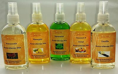 Aromatherapy Room Spray Home Fragrance 100ml Natural Essential Oils