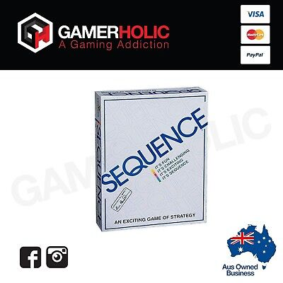 SEQUENCE BOARD GAME Family Board Game Birthday Christmas Gift Aussie Seller