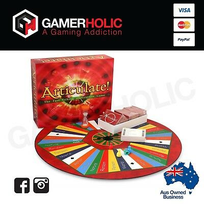 Articulate Board Game Mothers Fathers Family Game - Sealed - Brand New