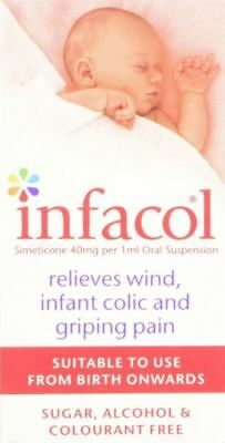 NEW! 50 ml Infacol to Relieve Wind, Infant Colic, stomach cramps & Griping Pain
