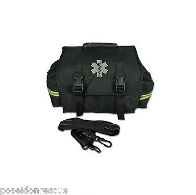 NEW Black Lightning X Small First Responder Bag w/ Dividers, Medical First Aid