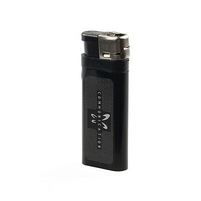 HD Mini DVR USB Metal Lighter Spy Hidden Pinhole Camera Video Camcorder Black