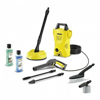 KARCHER K2 Car & Home Pressure Washer Compact Patio Cleaner Jet Lance 1400W