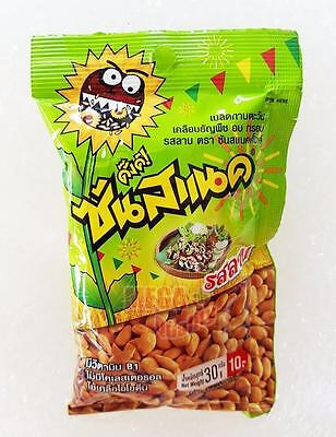 30g. Sunsnack Roasted Sunflower Kernel Cereal Coated with Chicken Larb Flavour