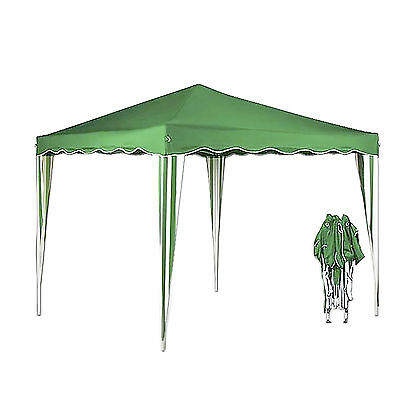 Gazebo 3x3M Folding Tent Pop Up Canopy Outdoor Camping  Party Marquee BBQ