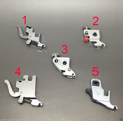 Sewing Machine Clip On  Foot Bracket Low/high Shank Brother Singer Janome Pfaff+